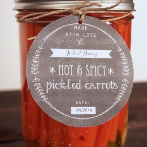 {Recipe} Spicy Pickled Carrots