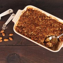 {Recipe} Cardamom Apple Crisp