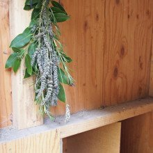 Herbal Bouquet for the Chicken Coop