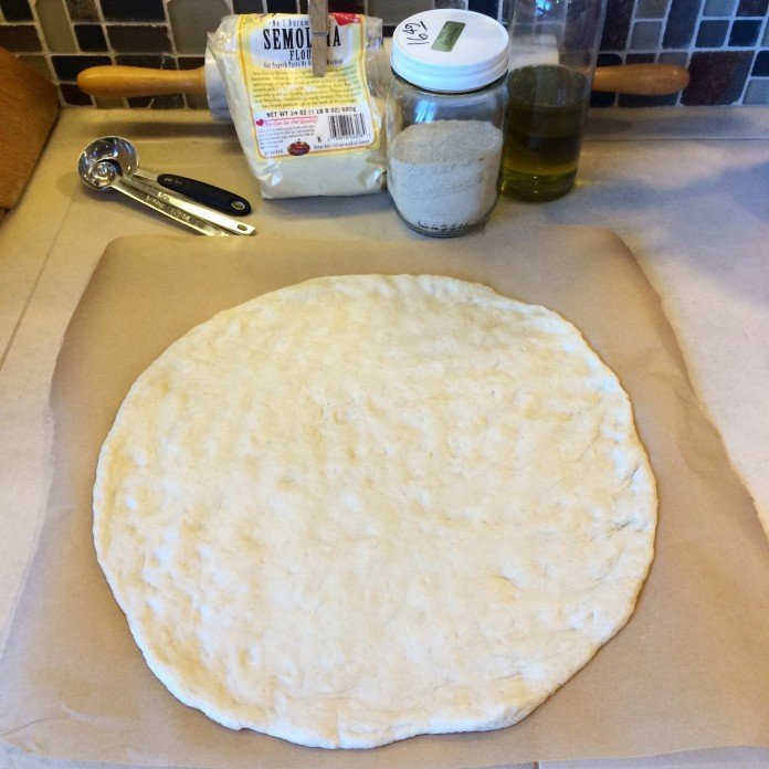 {Recipe} Go-To Pizza Dough