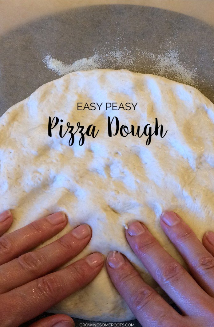 {Recipe} Easy Peasy Pizza Dough