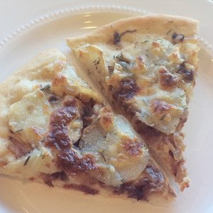 {Recipe} Caramelized Onion, Potato & Rosemary Pizza