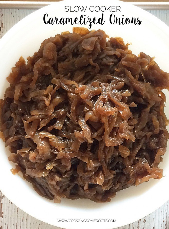 {Recipe} How to Caramelize Onions in the Slow Cooker