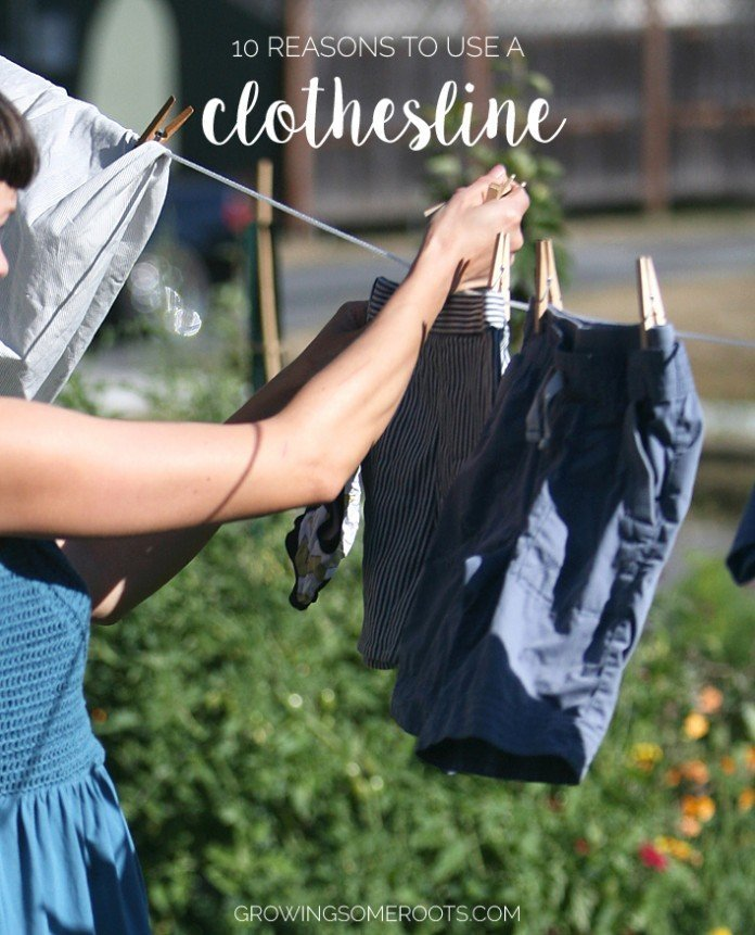 {The Simple Life} 10 Reasons to Use a Clothesline